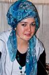 トルコ絨毯の織り子