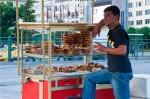 トルコのパン売り