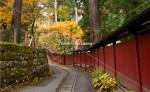 二荒山神社 朱色の塀