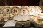 アジュダ宮殿 王家の食器