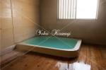 赤格子旅館の温泉