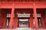 楼門と中門