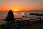 秋谷海岸の夕景3