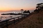 秋谷海岸の夕景4