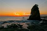 秋谷海岸の夕景5