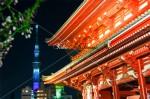 浅草寺とスカイツリーのコラボ