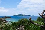 天城展望台の海