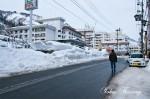 越後湯沢の街並み