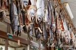 軒下の塩引き鮭