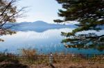 田沢湖 車窓風景