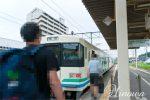 槻木駅(つきのきえき) 阿武隈急行